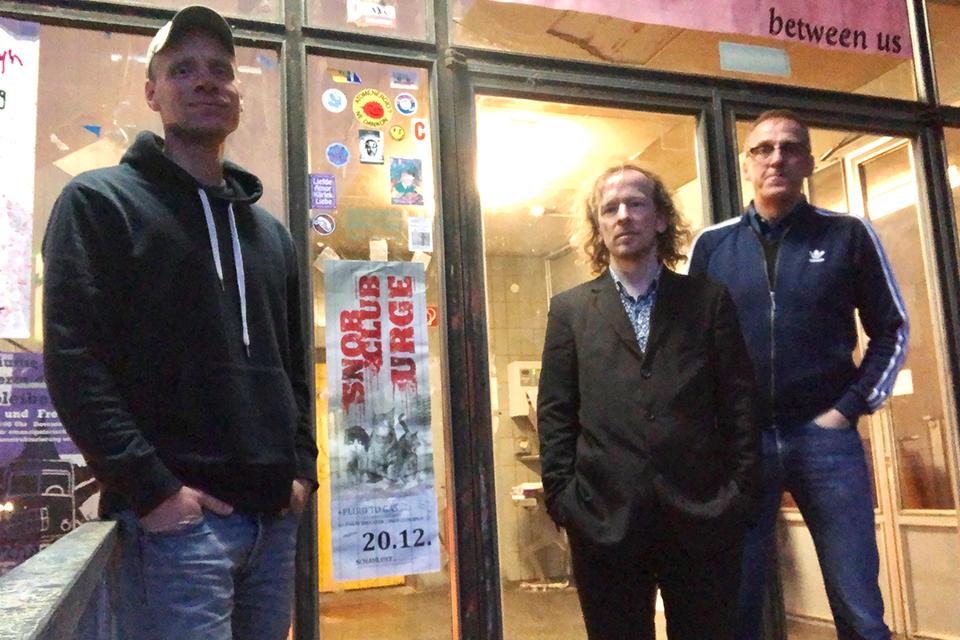 Snob Club | 2019 | Band Pic | L to R: Jochen Gutsch, Gregor Hennig, Matthias Weishoff